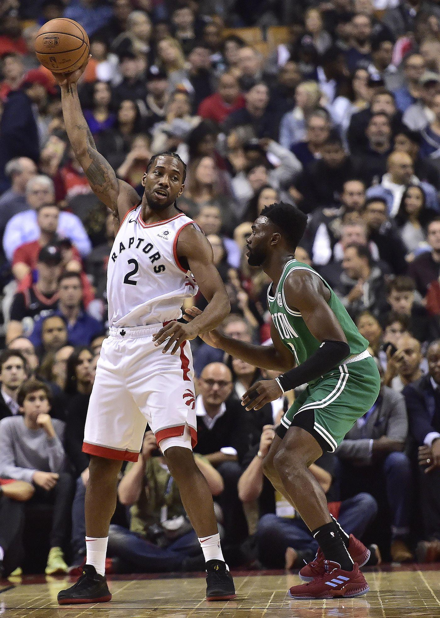 Kawhi Leonard scores 31 points, Raptors beat Celtics 113