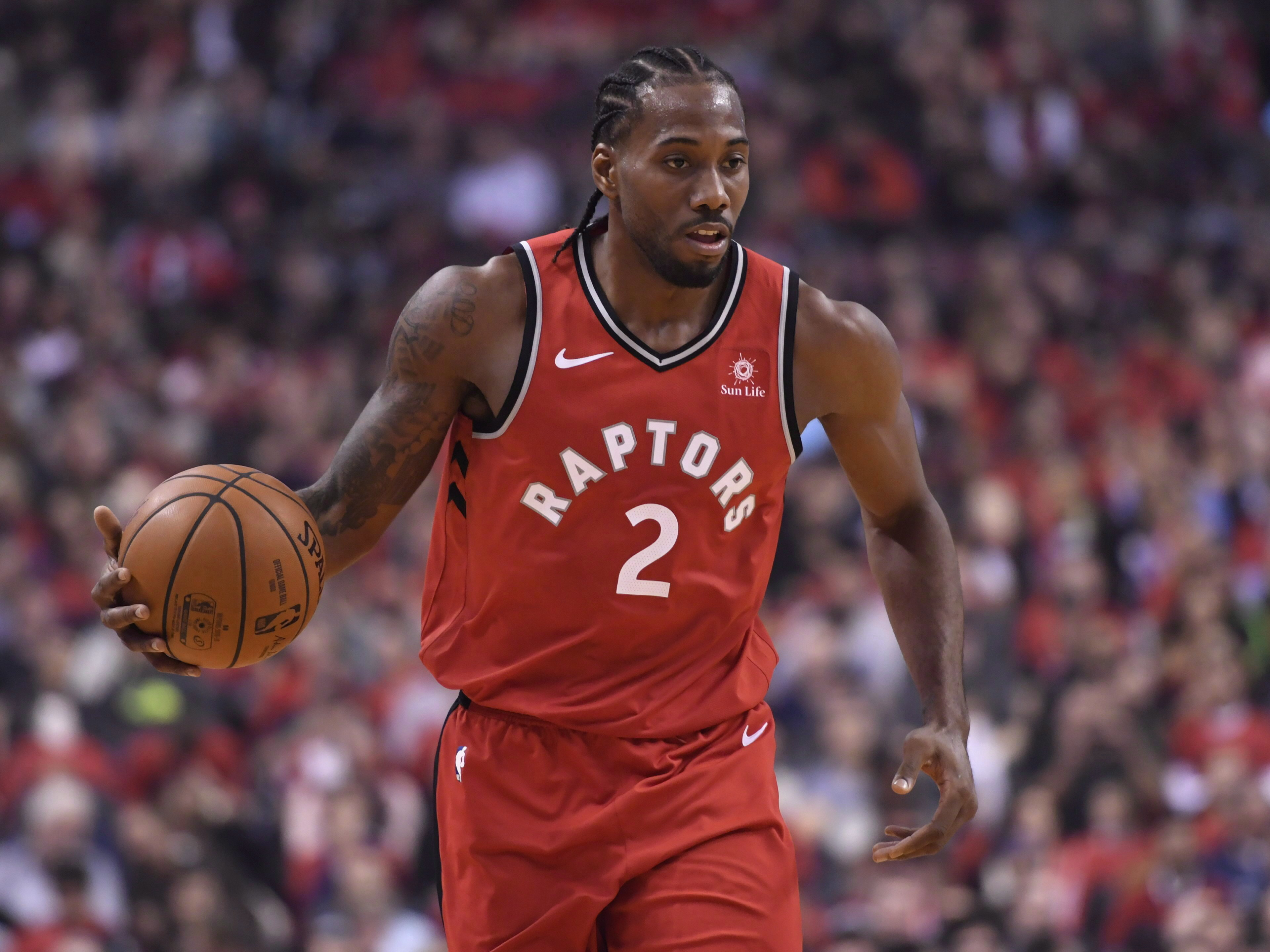 Raptors forward Kawhi Leonard voted in as all