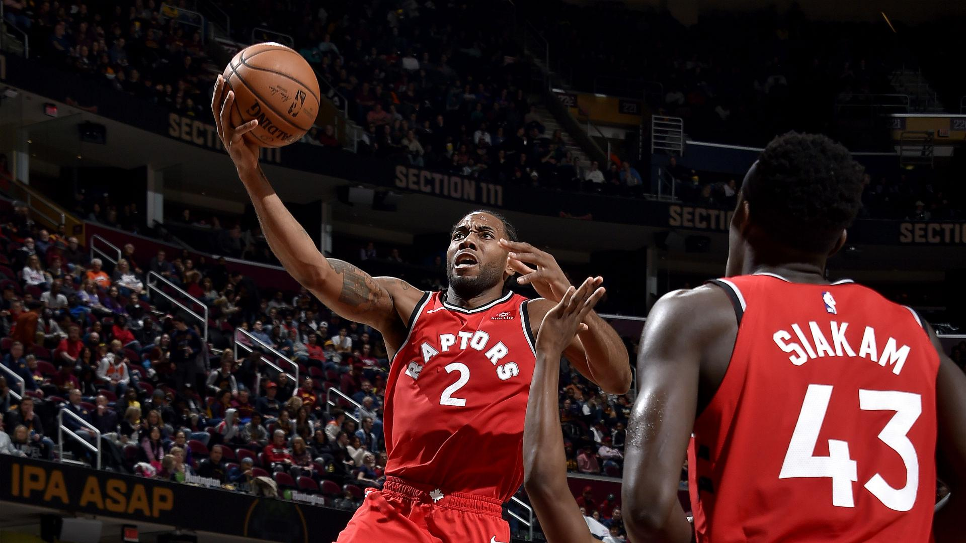 Kawhi Leonard carries Toronto Raptors past Cleveland Cavaliers with