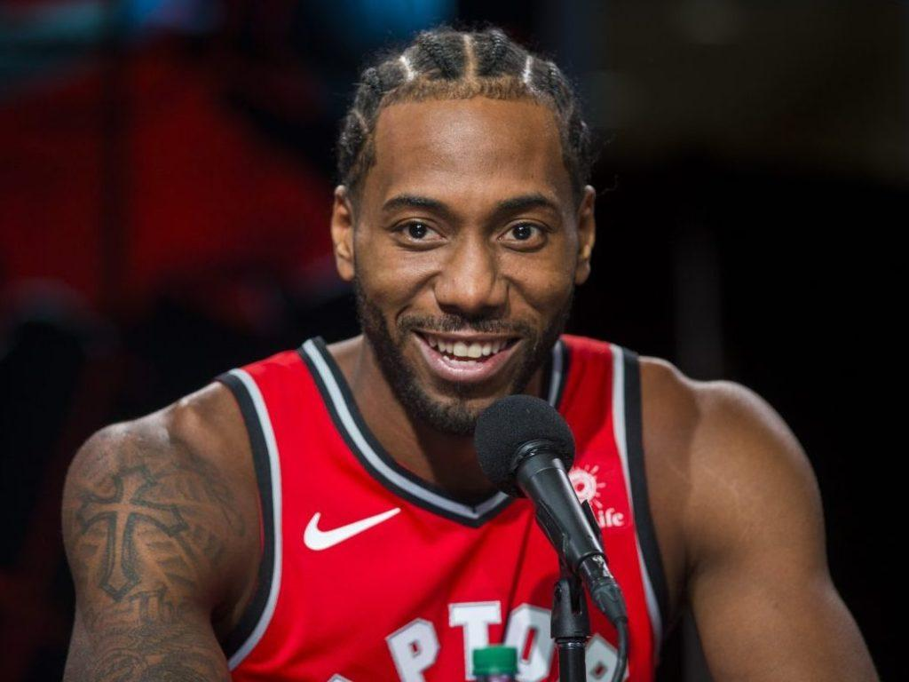 Kawhi Leonard 'excited' to be with Raptors and for what's next