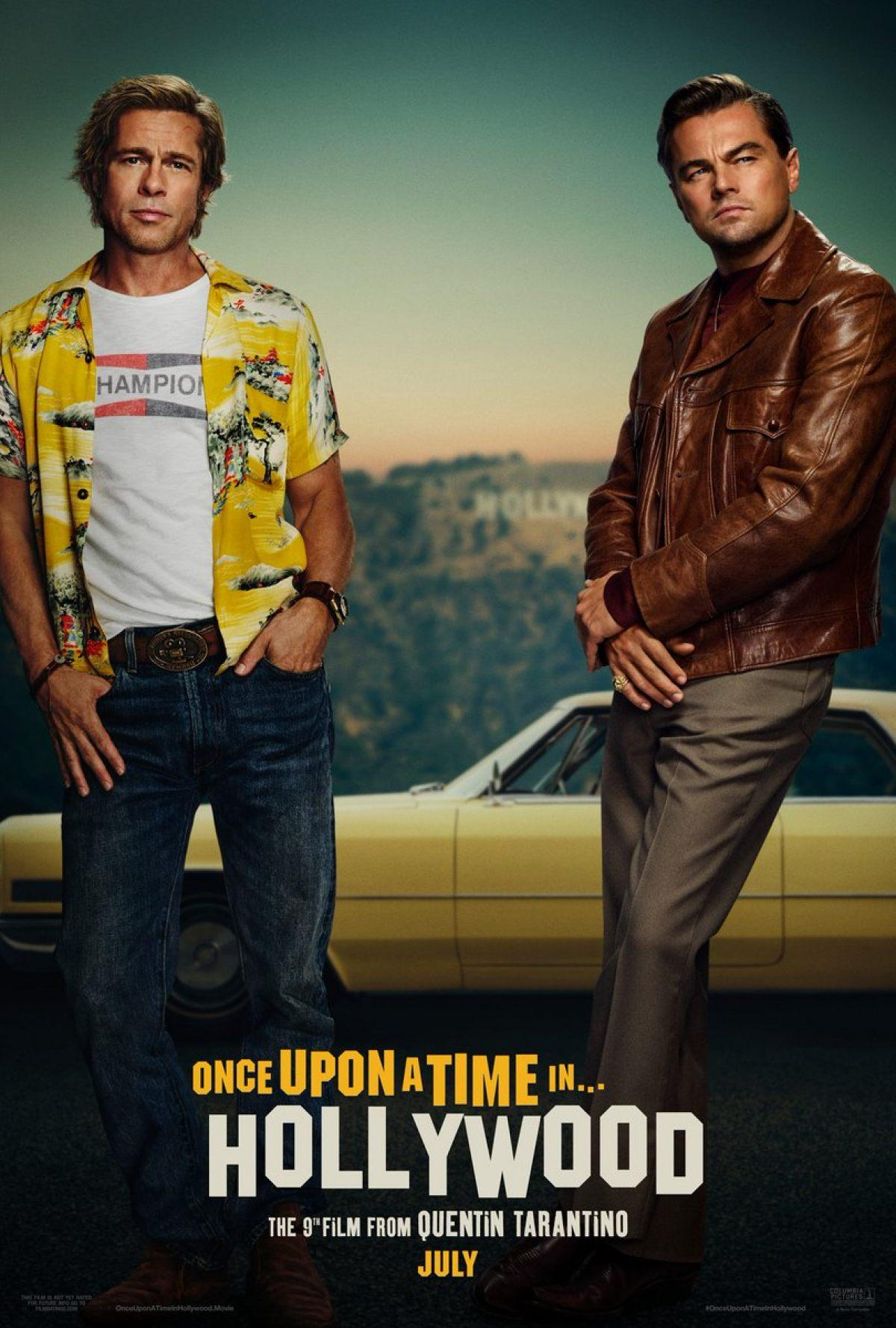 Once Upon a Time in Hollywood poster wallpapers