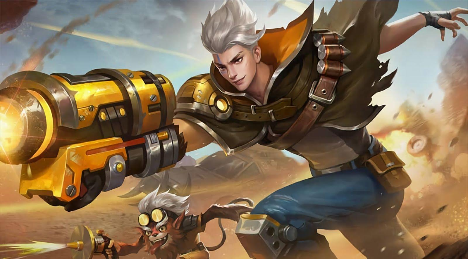 Mobile Legends Wallpapers HD: Claude Wallpapers HD
