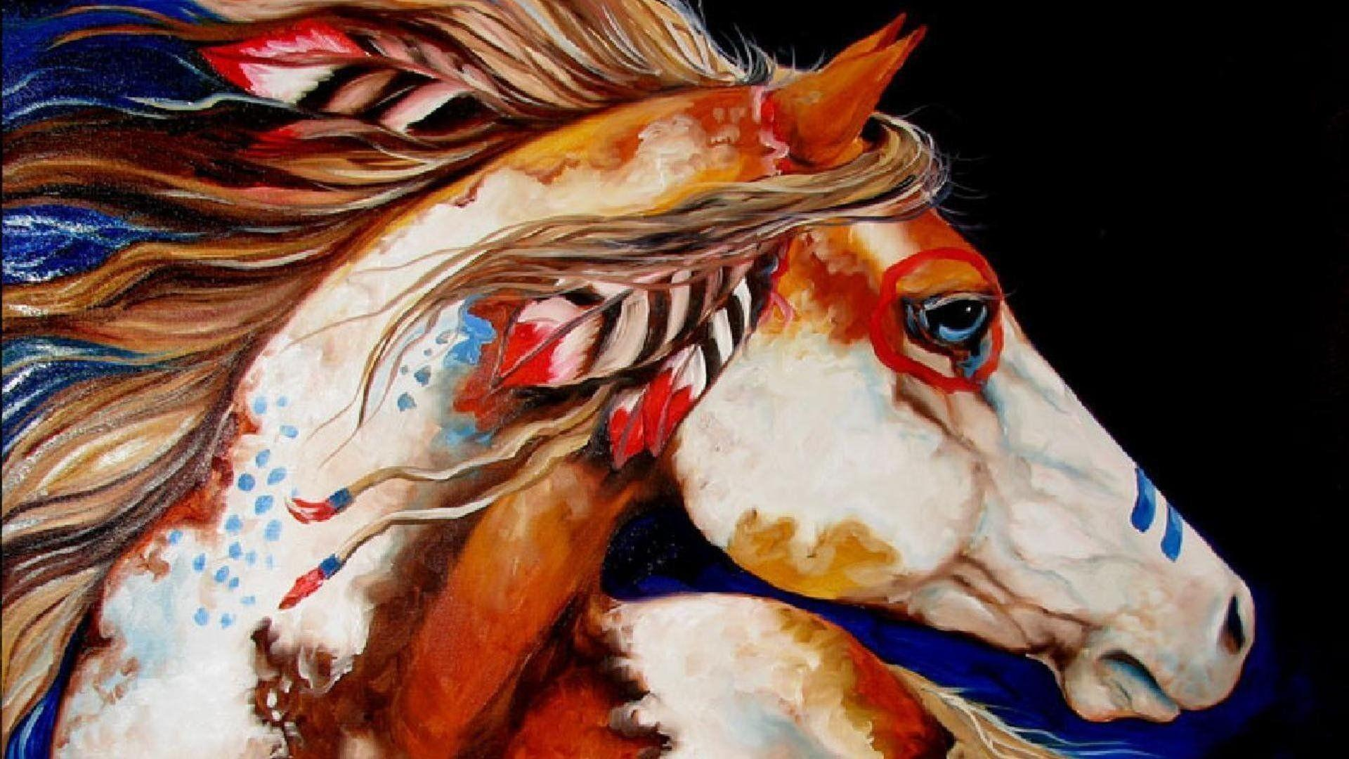 American Paint Horse Wallpapers - Wallpaper Cave