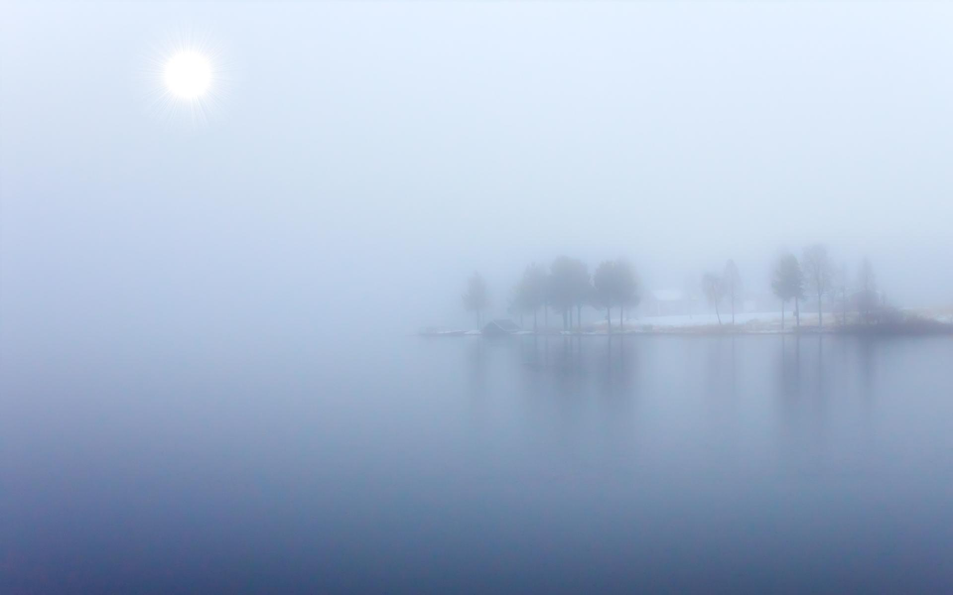 Cool Lake Mist Wallpaper 33768 1920x1200px