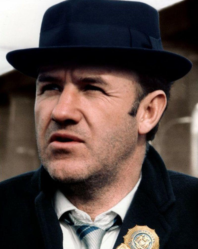 Gene Hackman in French Connection, 1971. It made the career of the
