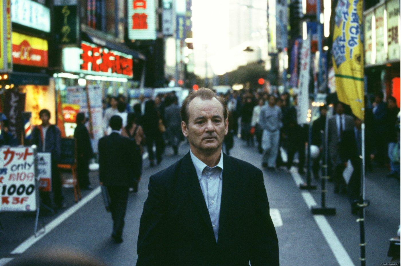 Bill Murray, busy city street. : wallpapers