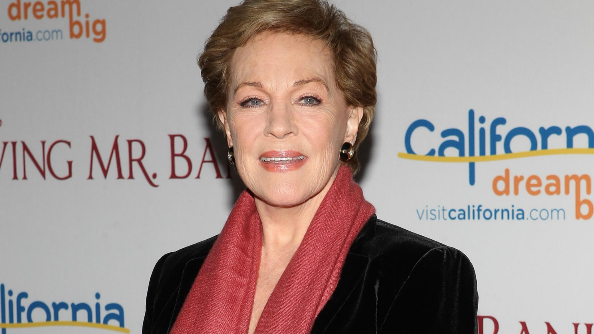 Julie Andrews is down for a Fifty Shades of Grey
