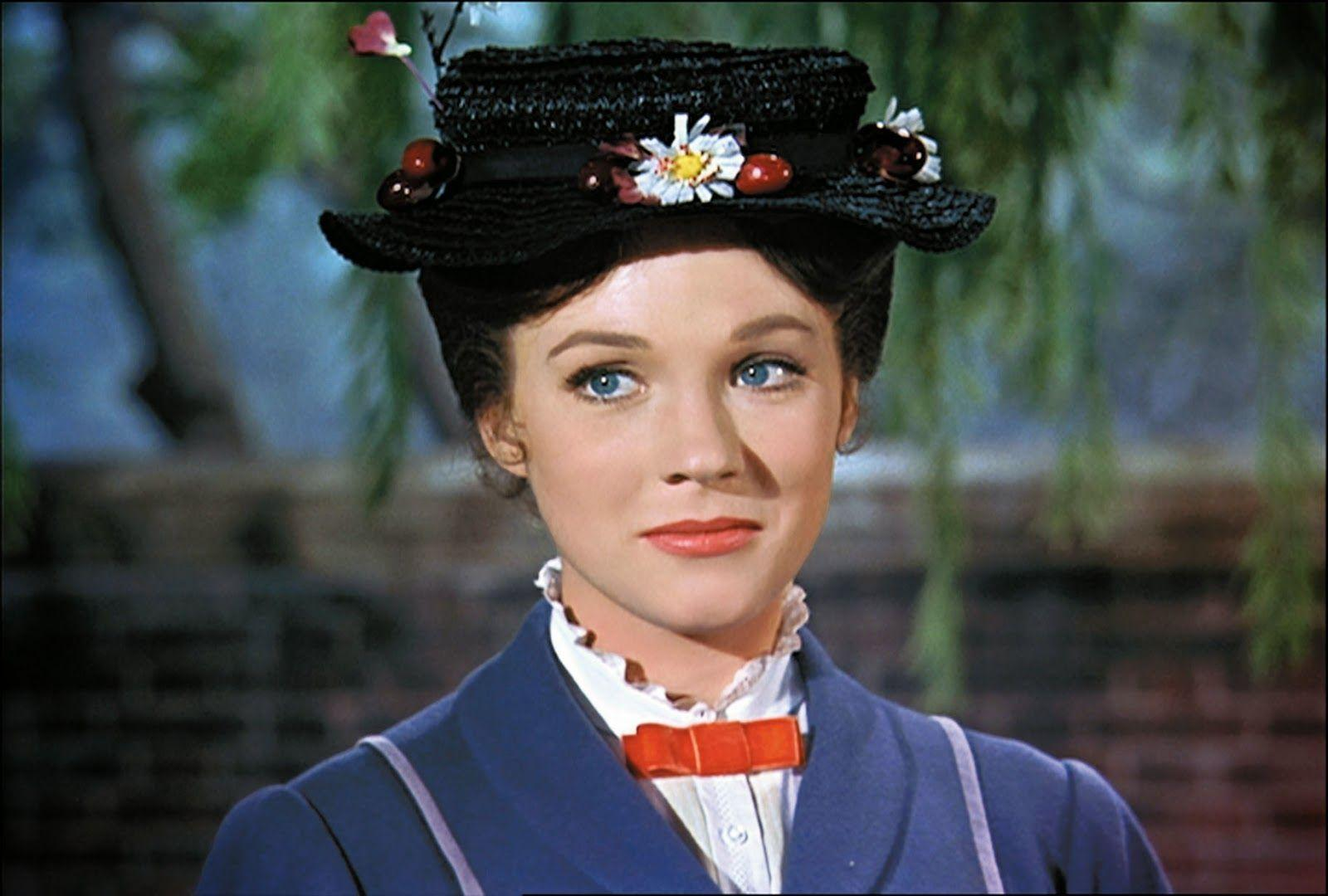 Mary Poppins Movie Julie Andrews Widescreen 2 HD Wallpapers