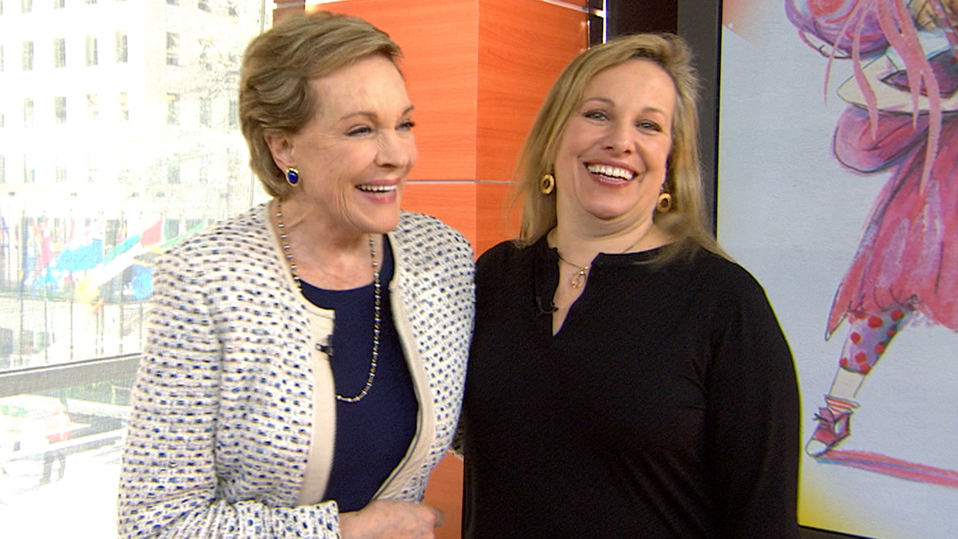 Julie Andrews' daughter: My mom was 'hands on'