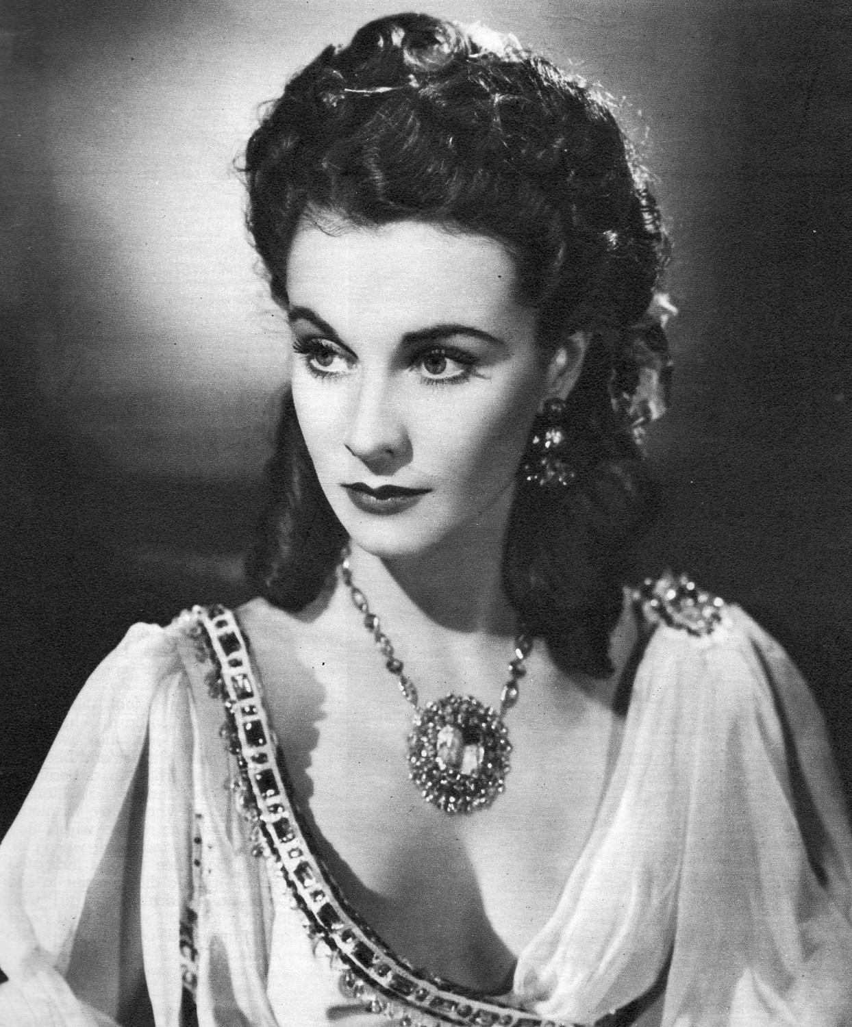 "Vivien Leigh, ""I am going to be a great actress."" – Once upon a screen…"