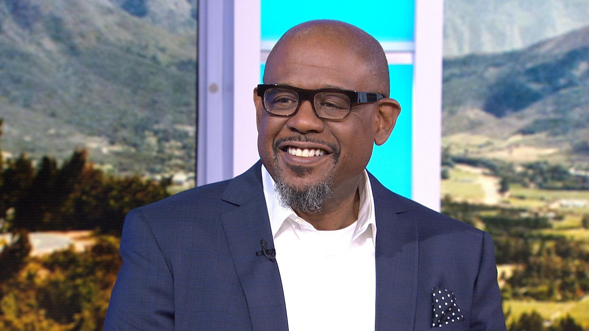Forest Whitaker talks about playing Desmond Tutu in 'The Forgiven'