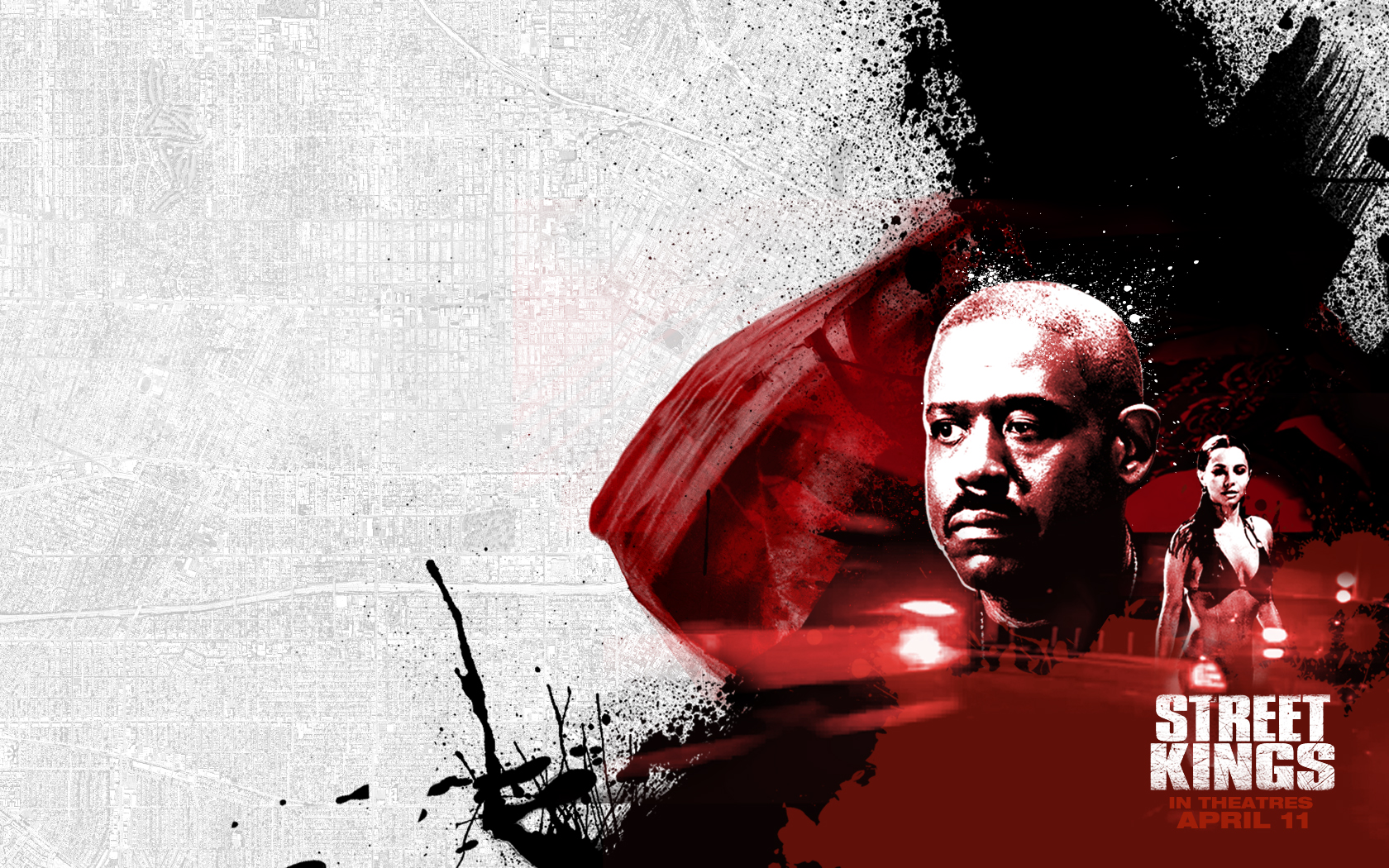 Forest Whitaker - Forest Whitaker in Street Kings Wallpaper 4 800x600