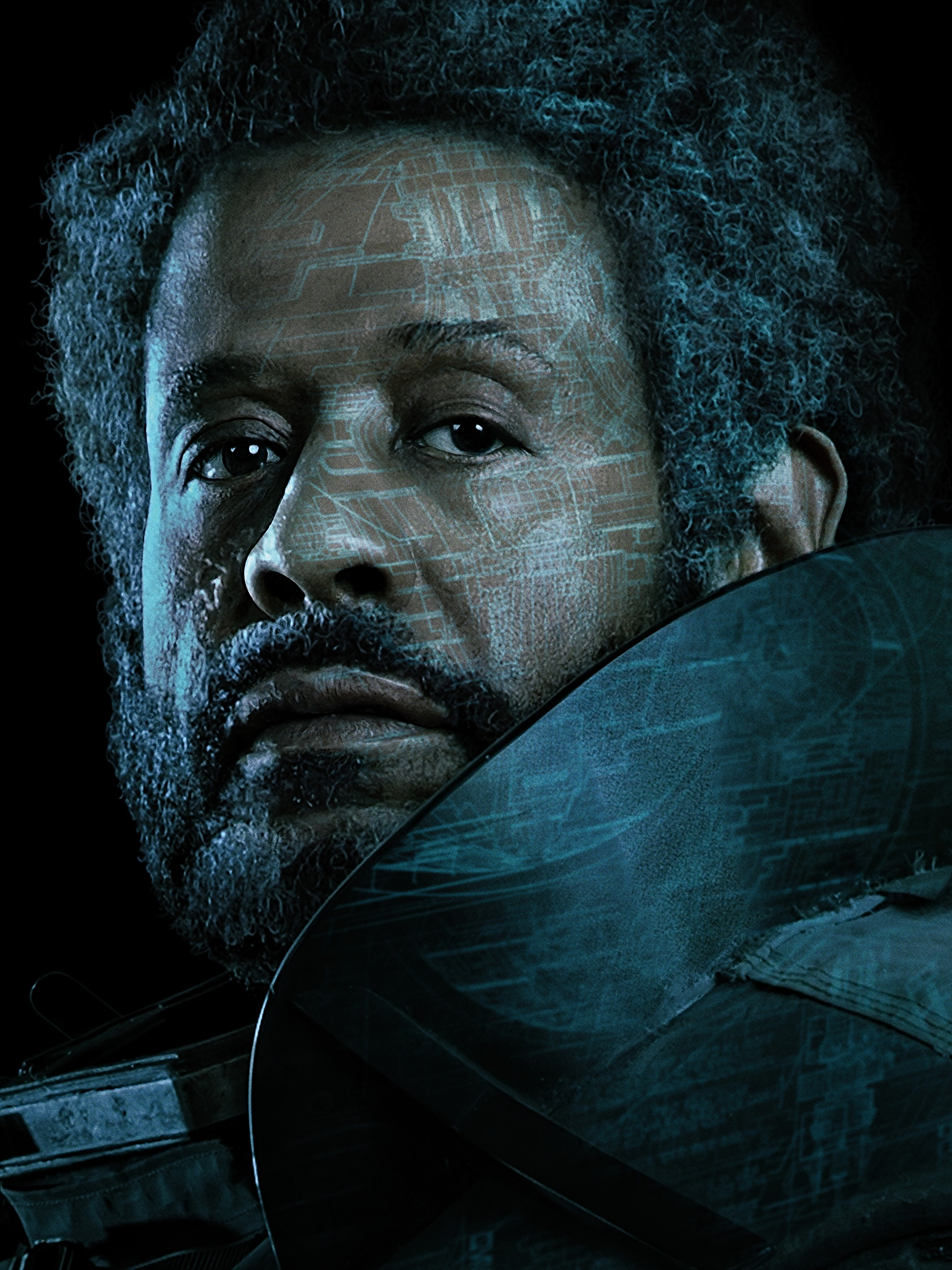 Picture Rogue One: A Star Wars Story Men Saw Gerrera 2048x2732