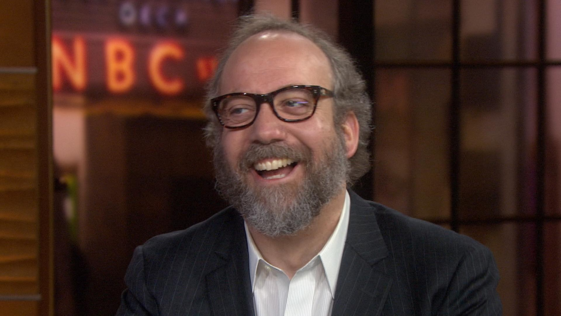 Paul Giamatti: I wanted to be a cartoonist