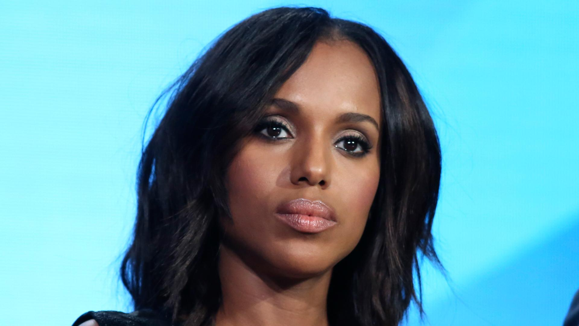 damask wallpaper: Kerry Washington sexy Wallpapers