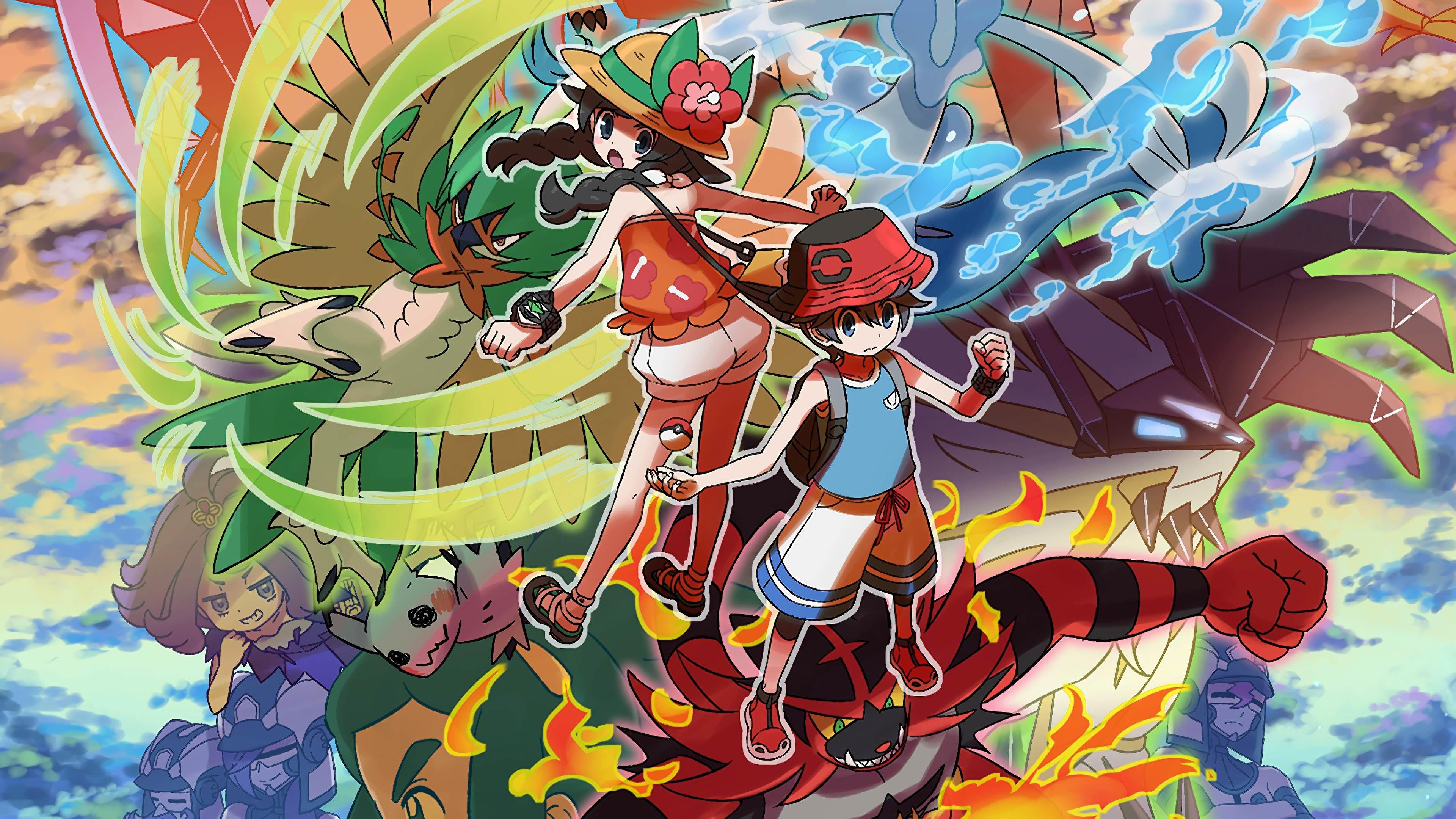 Pokémon Ultra Sun And Ultra Moon Wallpapers - Wallpaper Cave