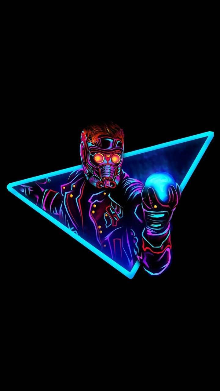 Avengers Neon Wallpapers Wallpaper Cave