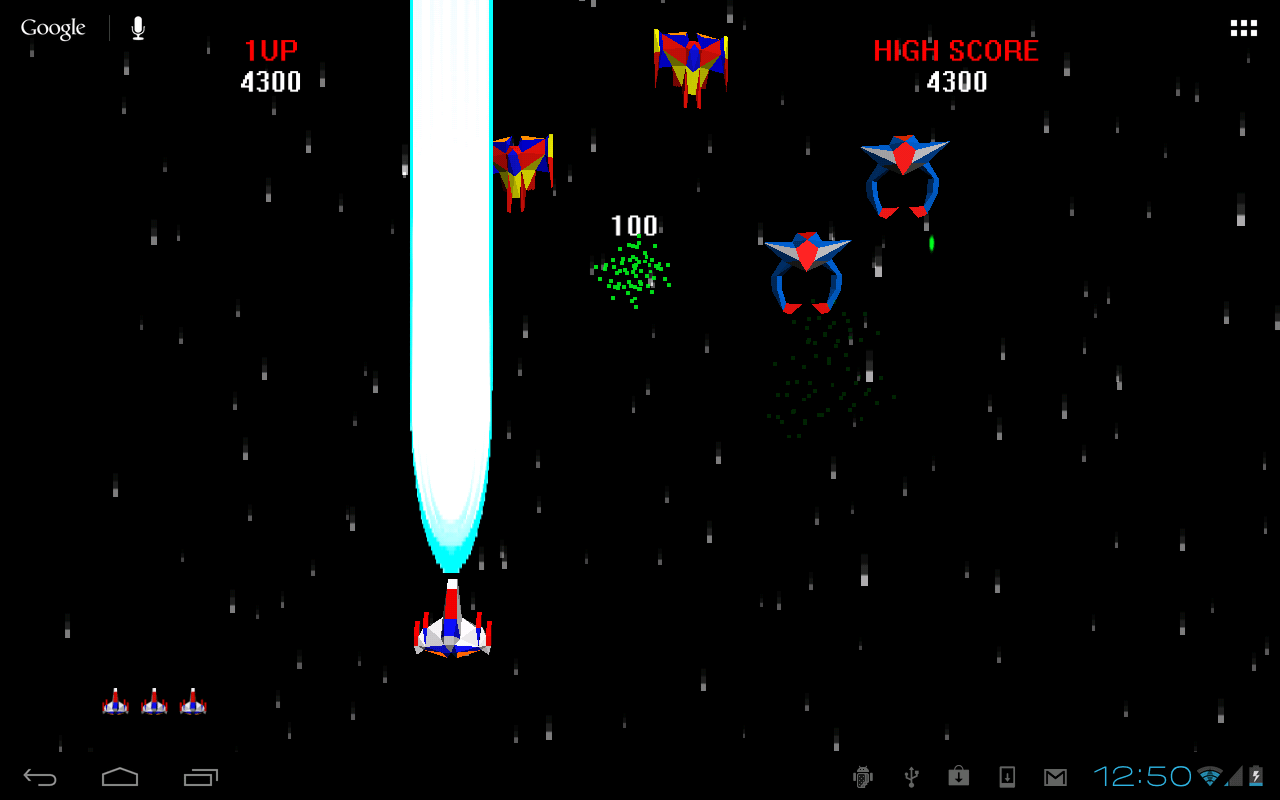 Galaga Space Backgrounds