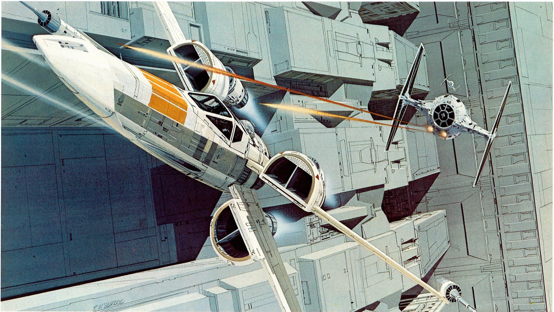 Star Wars Retro Wallpapers Wallpaper Cave