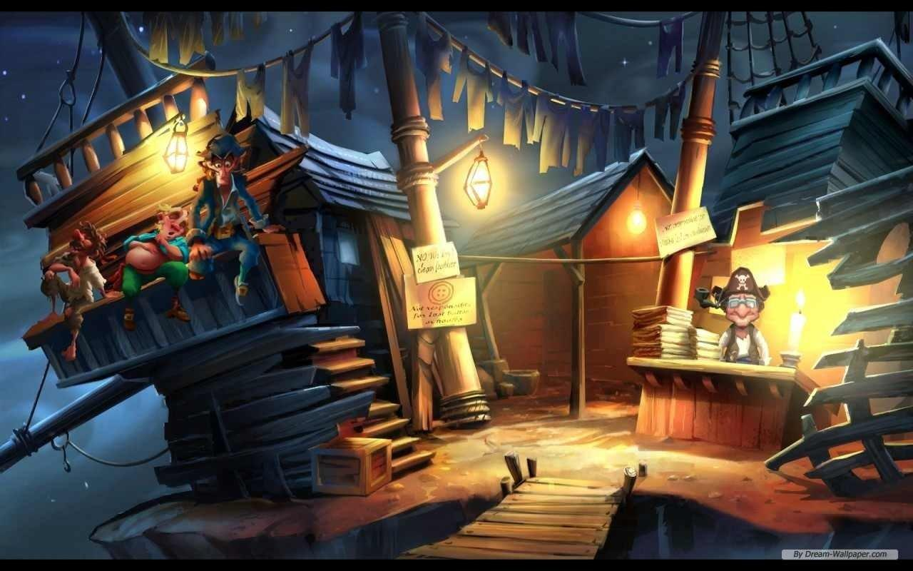 Monkey Island 2: Lechuck's Revenge Wallpapers and Backgrounds Image