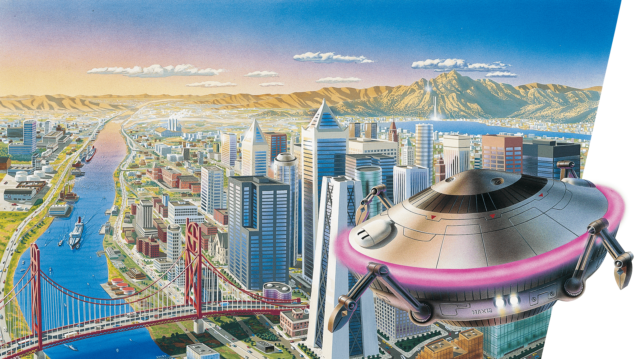 SimCity 2000 [2415x1358] : wallpapers