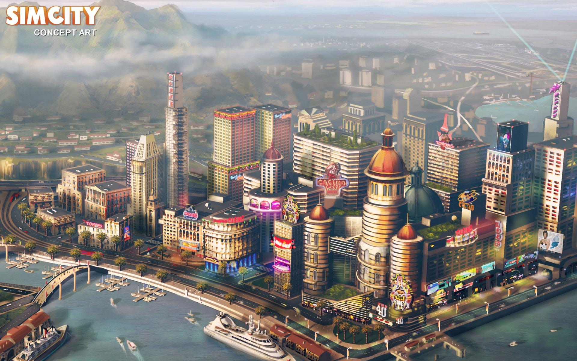 15 Simcity HD Wallpapers