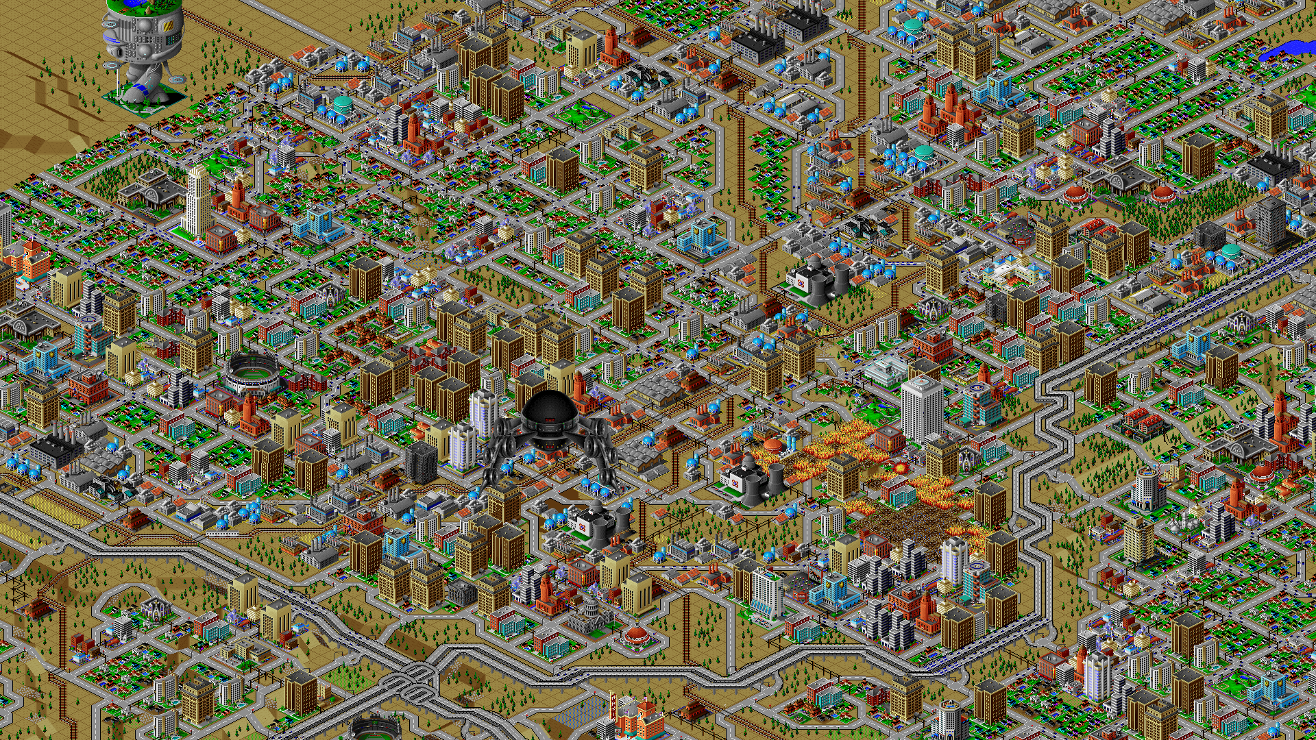 My Sims City: Centropolis in SimCity 2000 by AgentG245