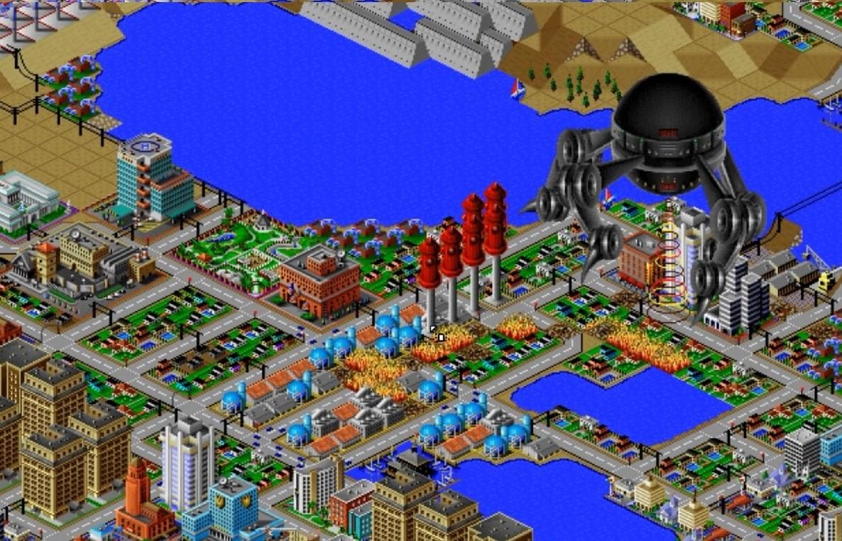 SimCity 2000' Teaches 2016 Urban Planners to Reconsider Rebuilding