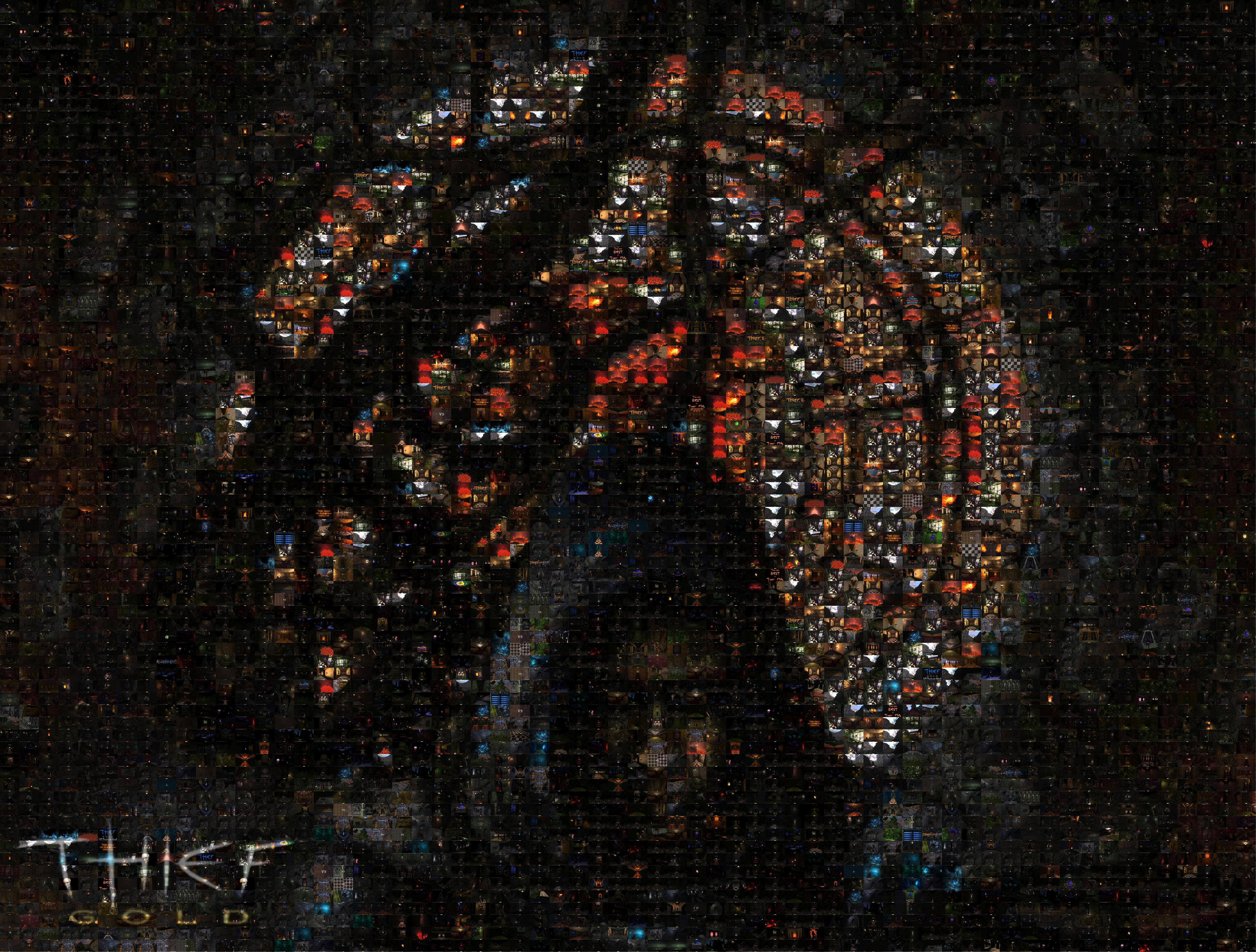 Thief Gold HD Mosaic Wallpapers image