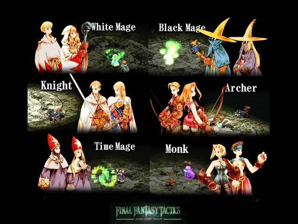 Final Fantasy Tactics Wallpapers Wallpaper Cave