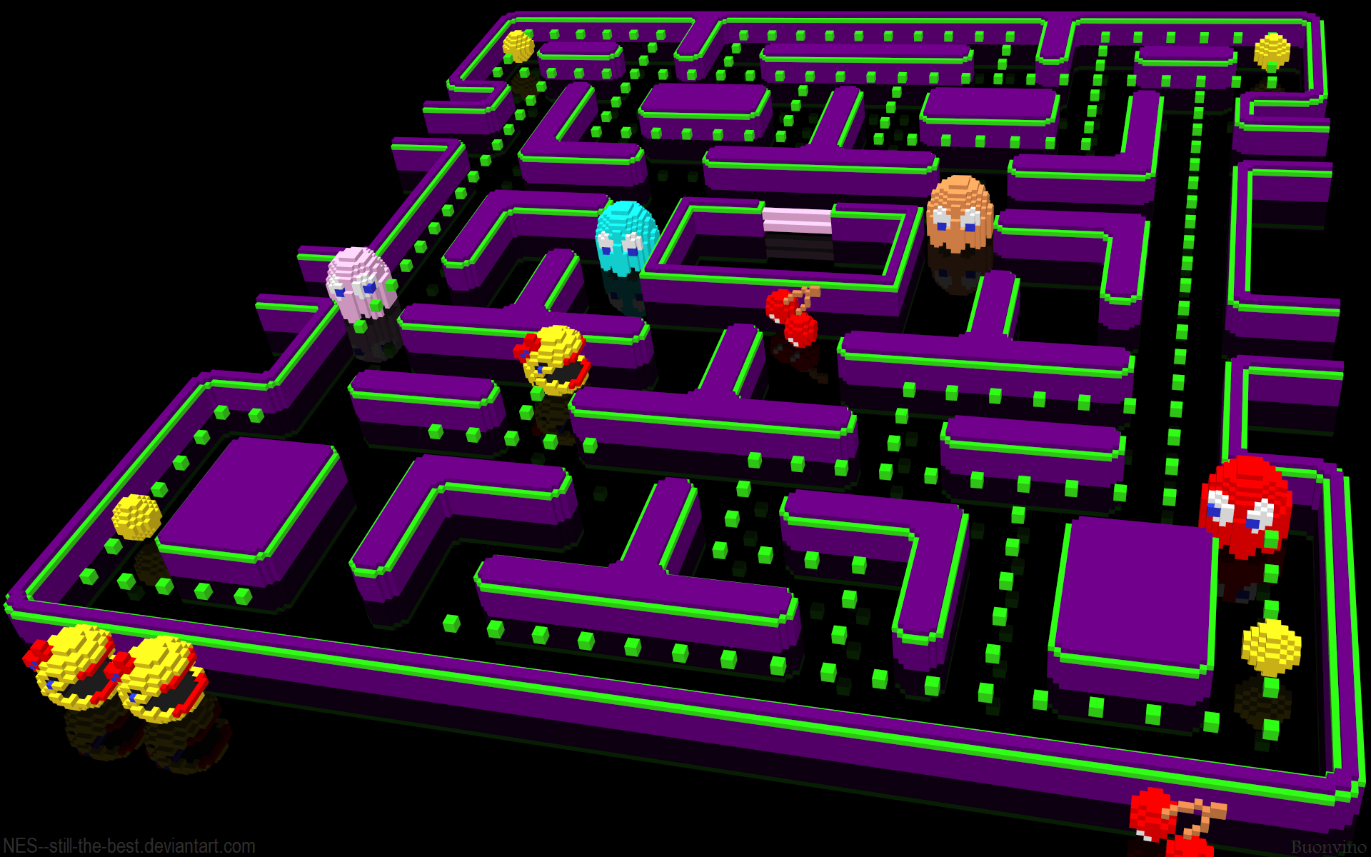 Ms Pac Man Wallpapers Wallpaper Cave