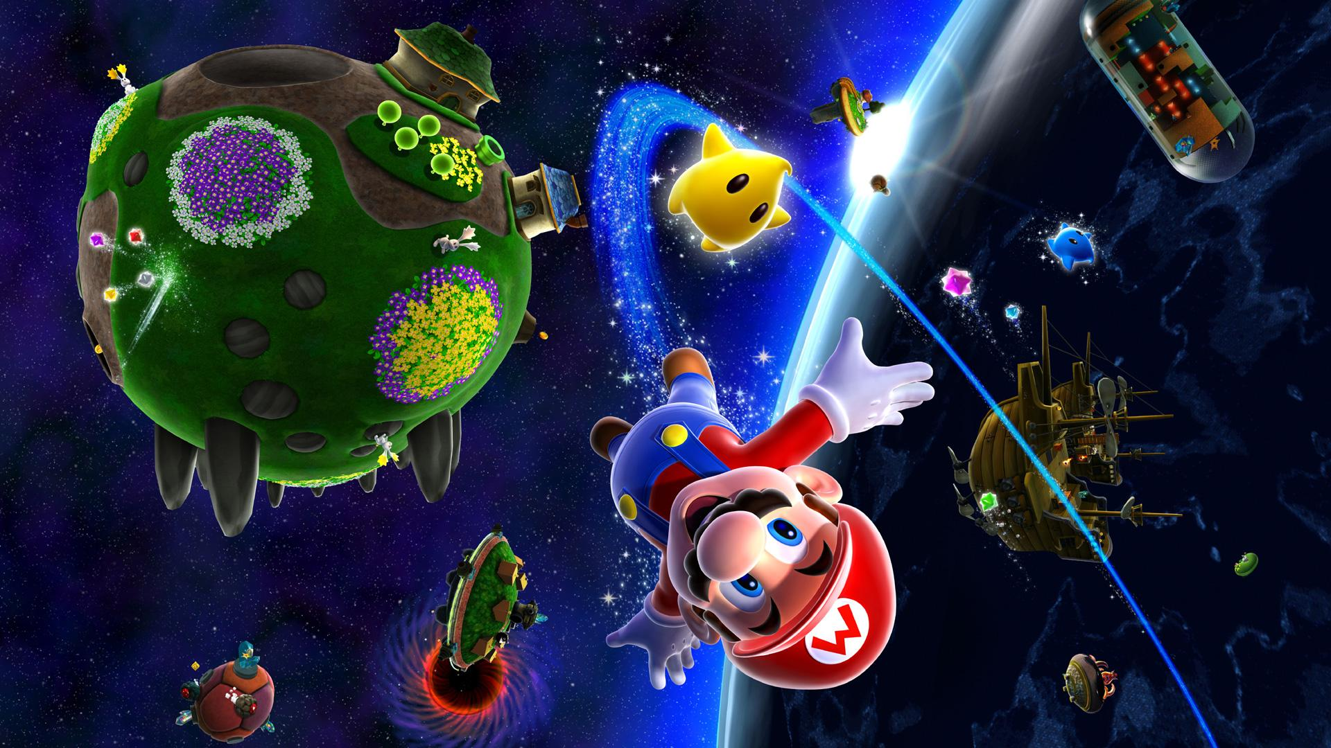 Super Mario Galaxy Wallpapers - Wallpaper Cave