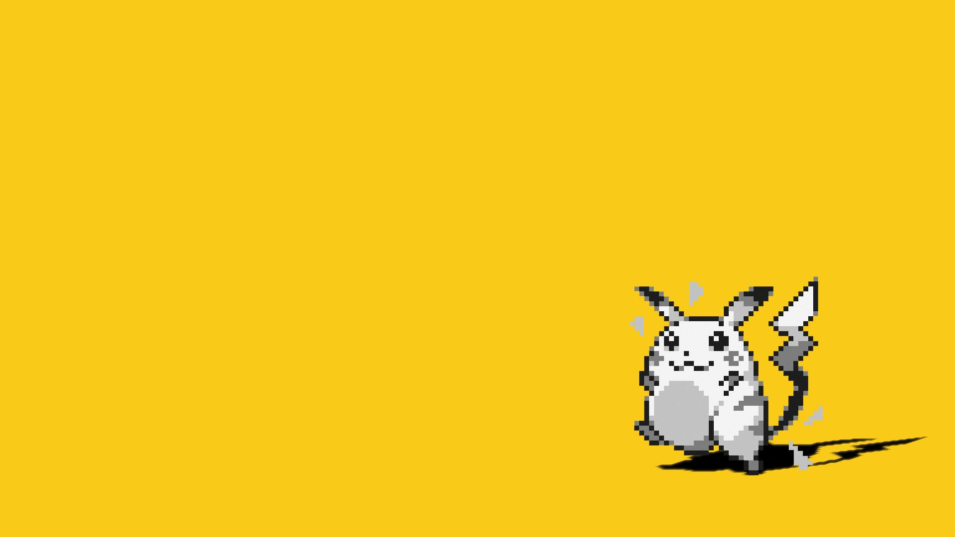 Pokemon Yellow Wallpapers Wallpaper Cave