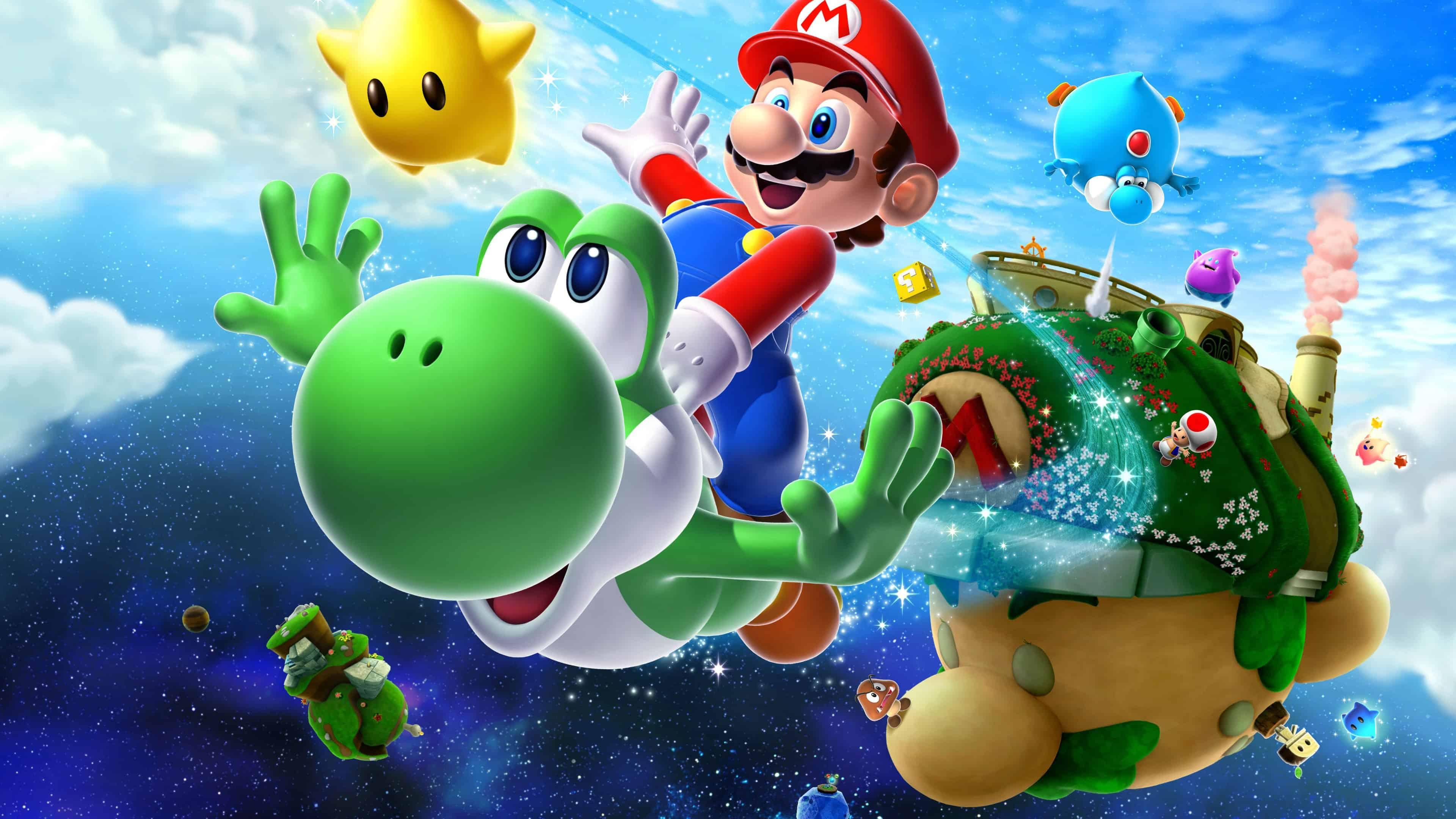 Super Mario Galaxy [Wii][Español][Mega][MediaFire] | Emu ...