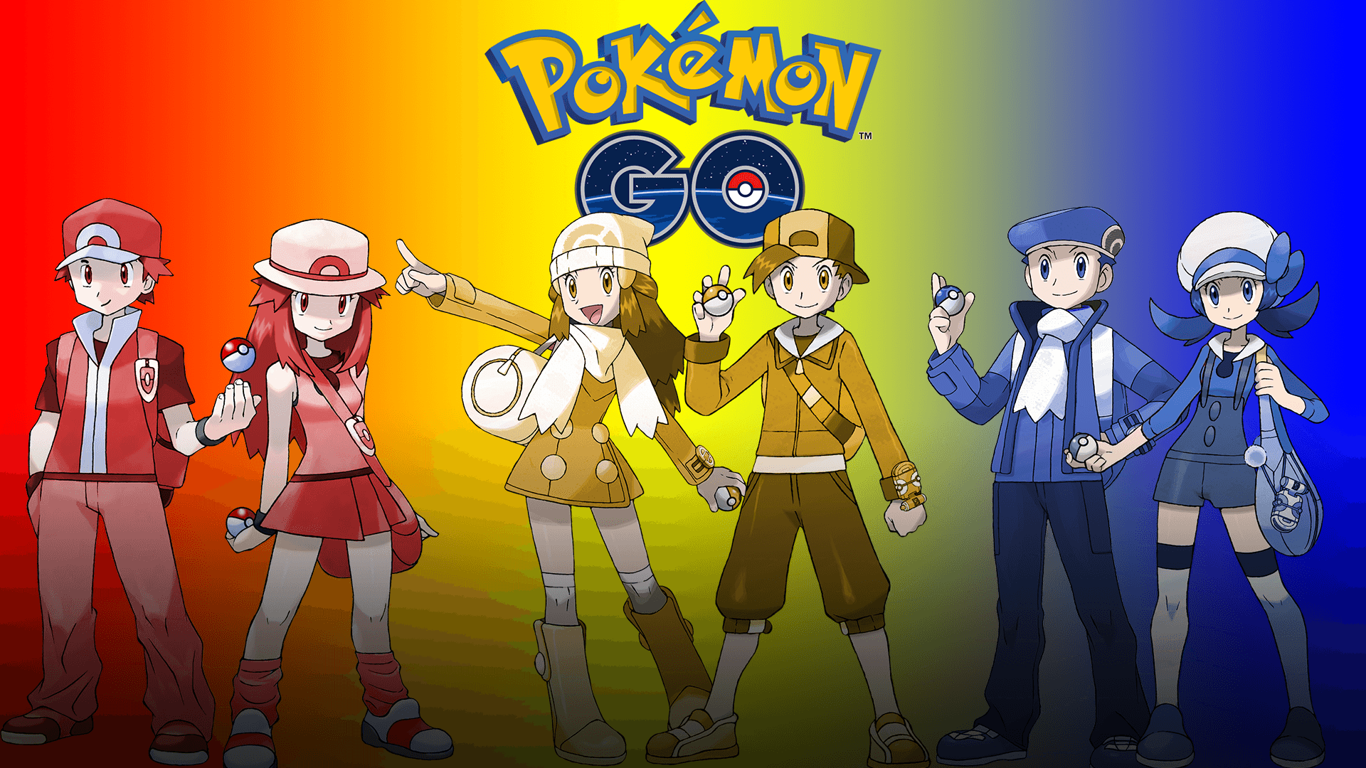 I made a desktop wallpapers for pokemon go! So here's a little