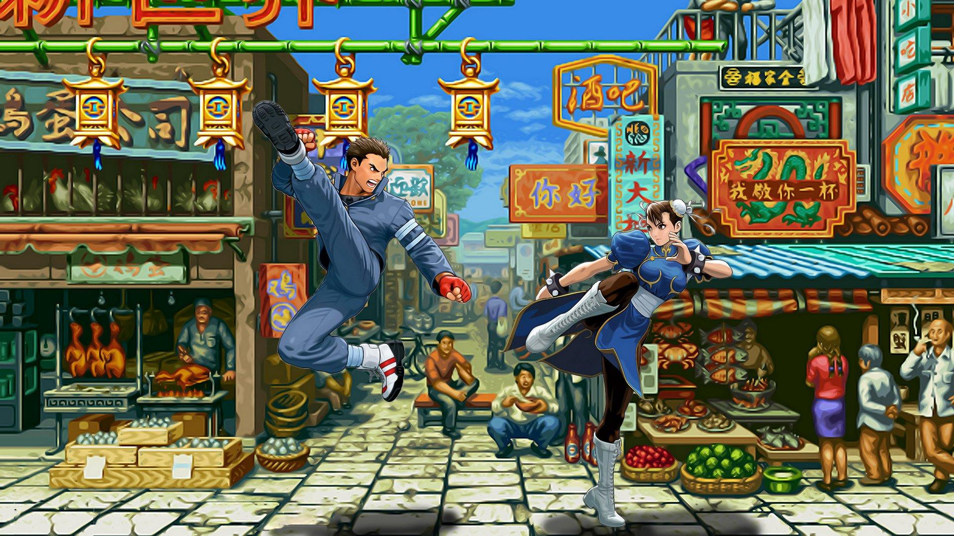 Street Fighter II: The World Warrior HD Wallpapers