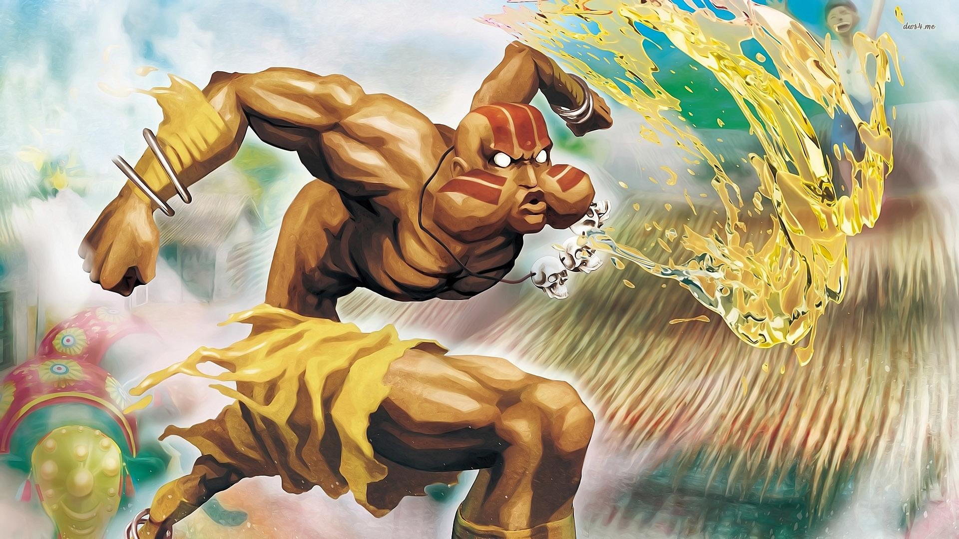 Dhalsim in Super Street Fighter II: The New Challengers wallpapers