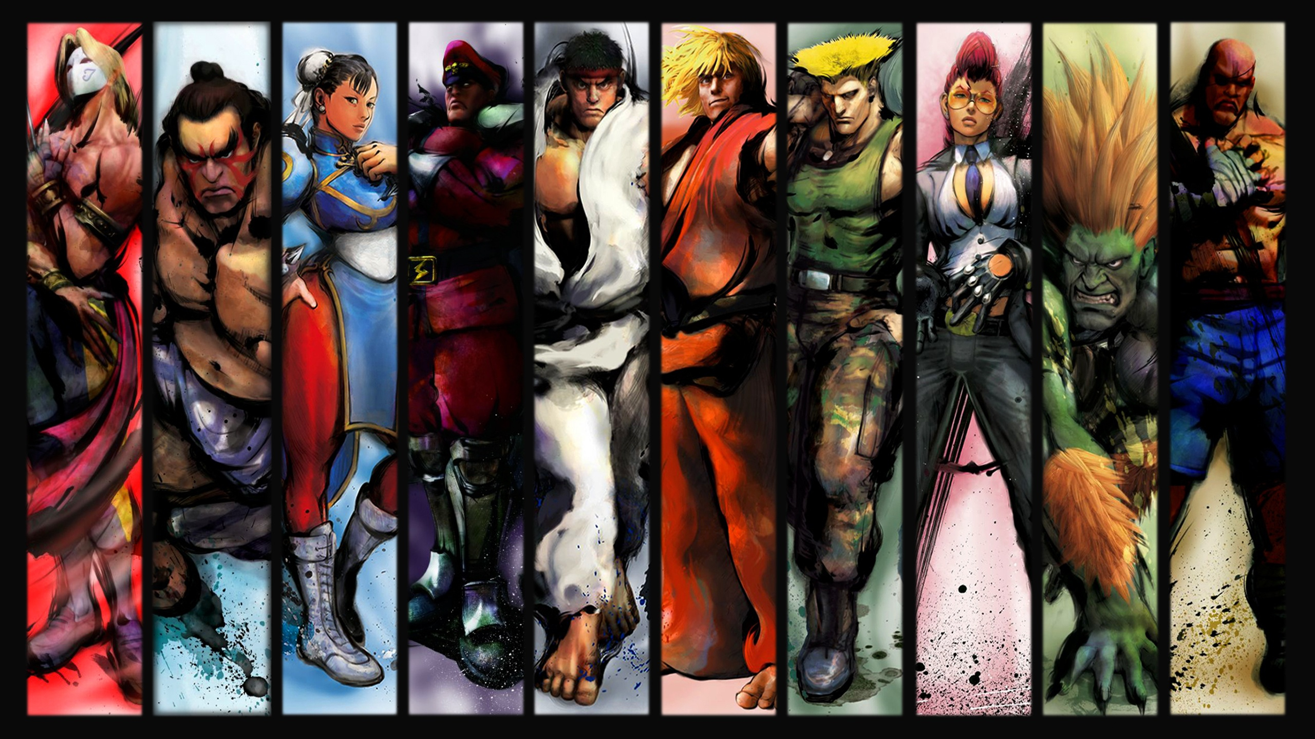 Street Fighter II Wallpapers HD Backgrounds – Scalsys