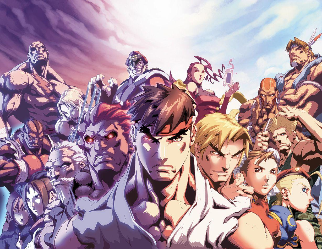 Anime Street Fighter Wallpapers
