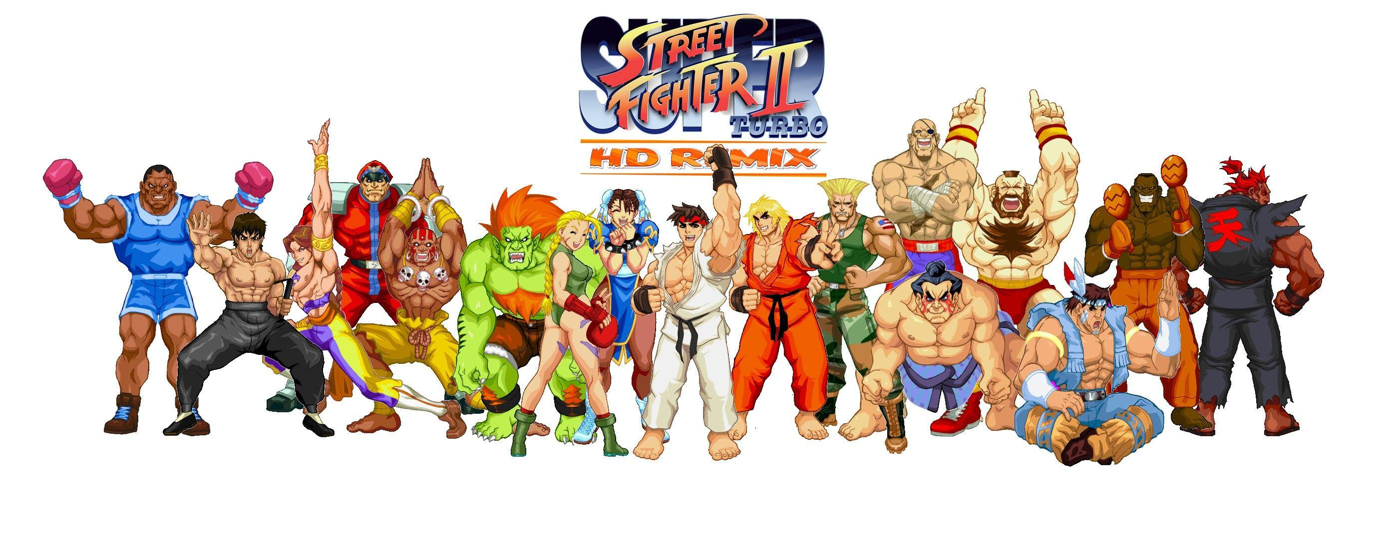 Street Fighter 2 Wallpapers – Scalsys