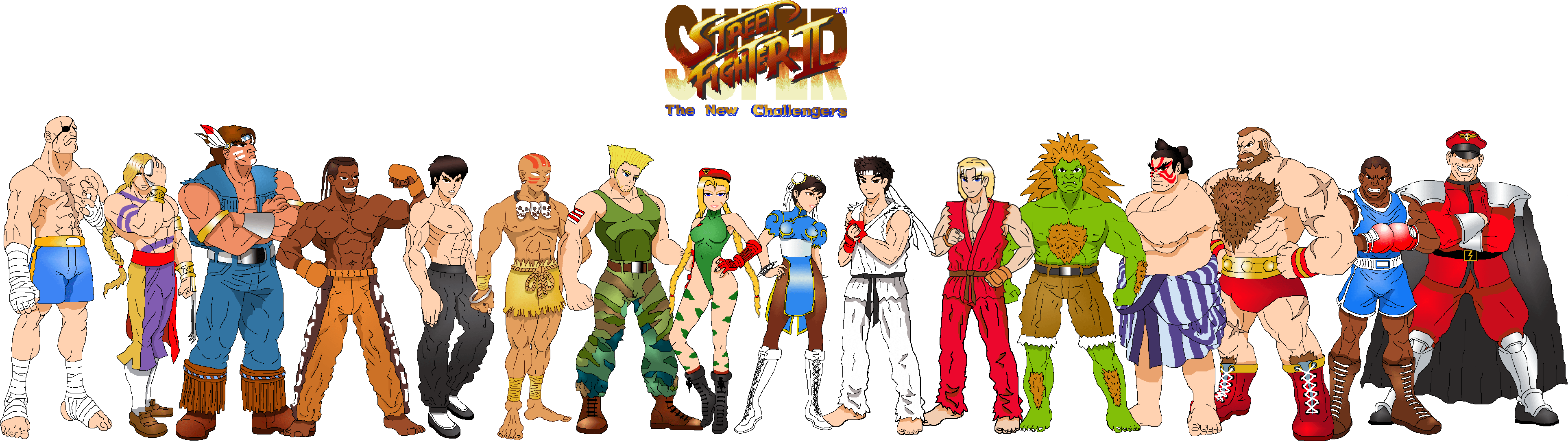 Download Street Fighter 2 Wallpapers