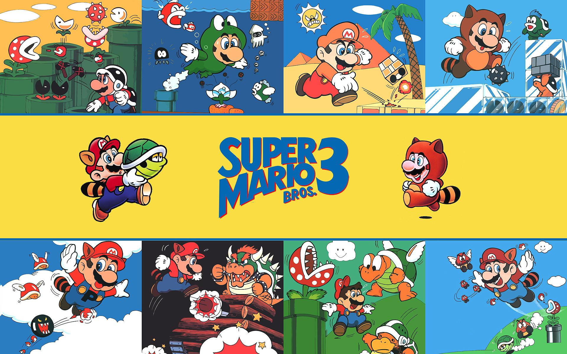 Super Mario Bros  3 Wallpapers - Wallpaper Cave