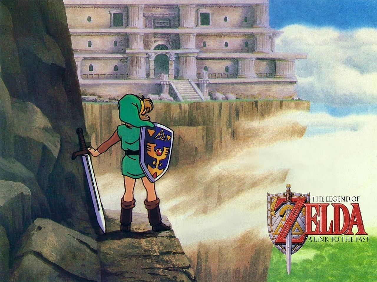 The Legend Of Zelda A Link To The Past Wallpapers Wallpaper Cave