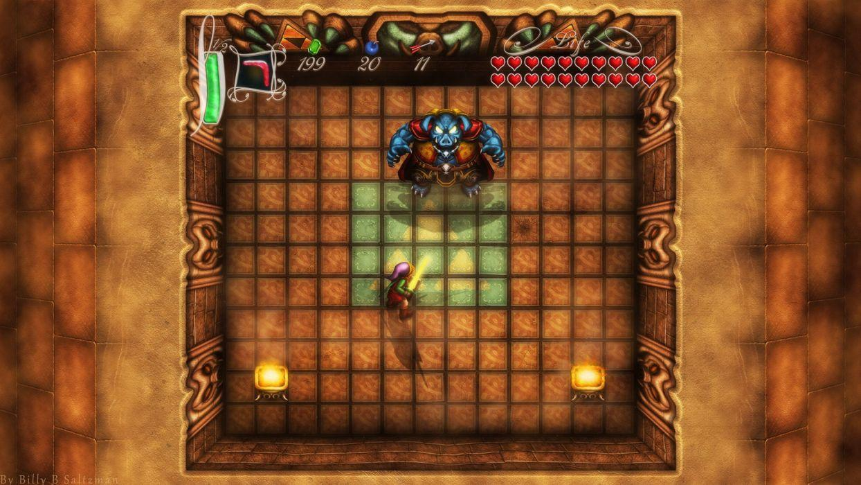 Ganondorf The Legend of Zelda Boss Battle A Link To The Past The