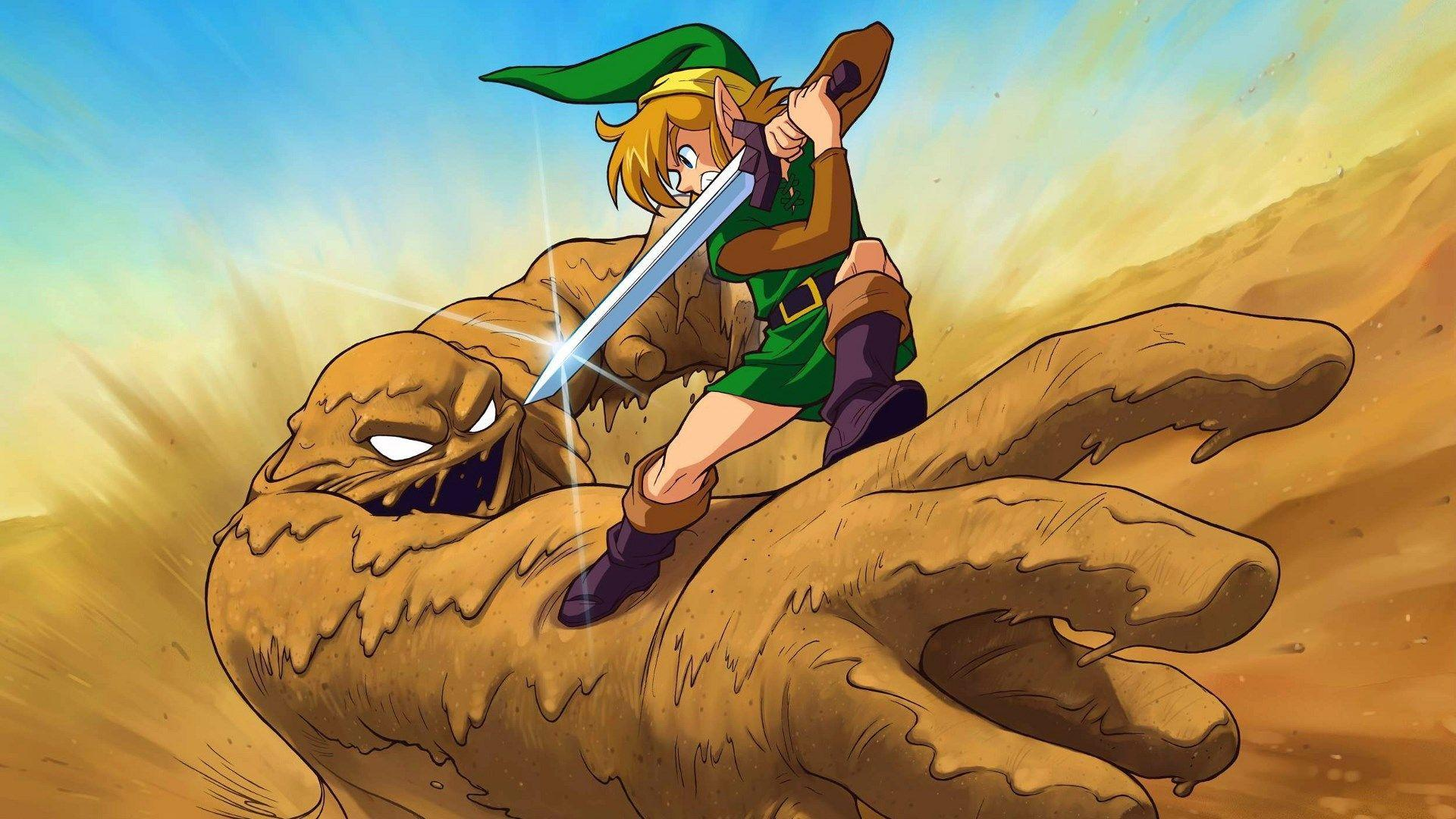 free wallpapers and screensavers for the legend of zelda a link to
