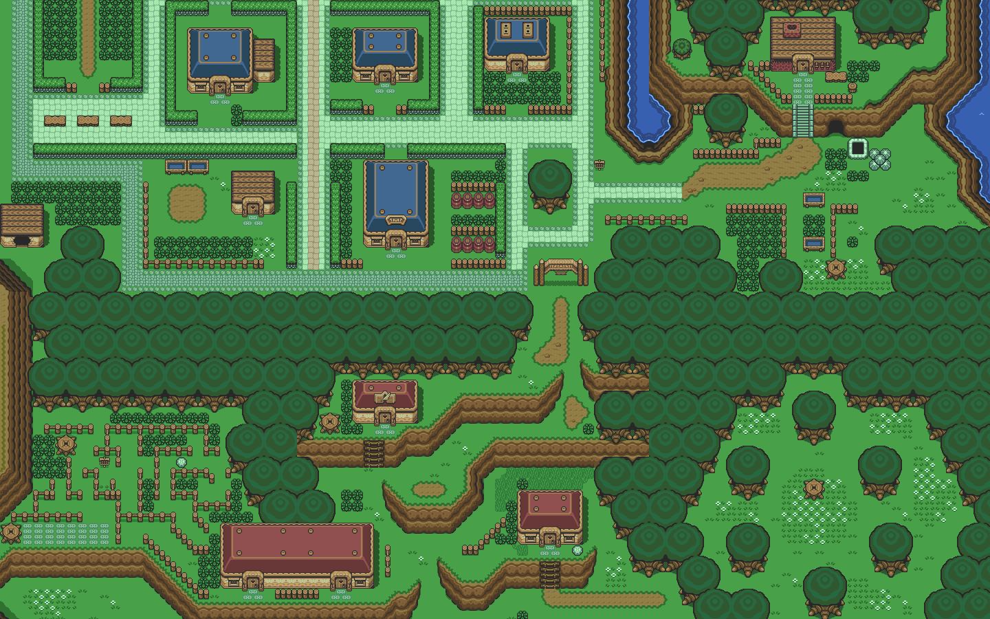 Zelda Map Wallpapers