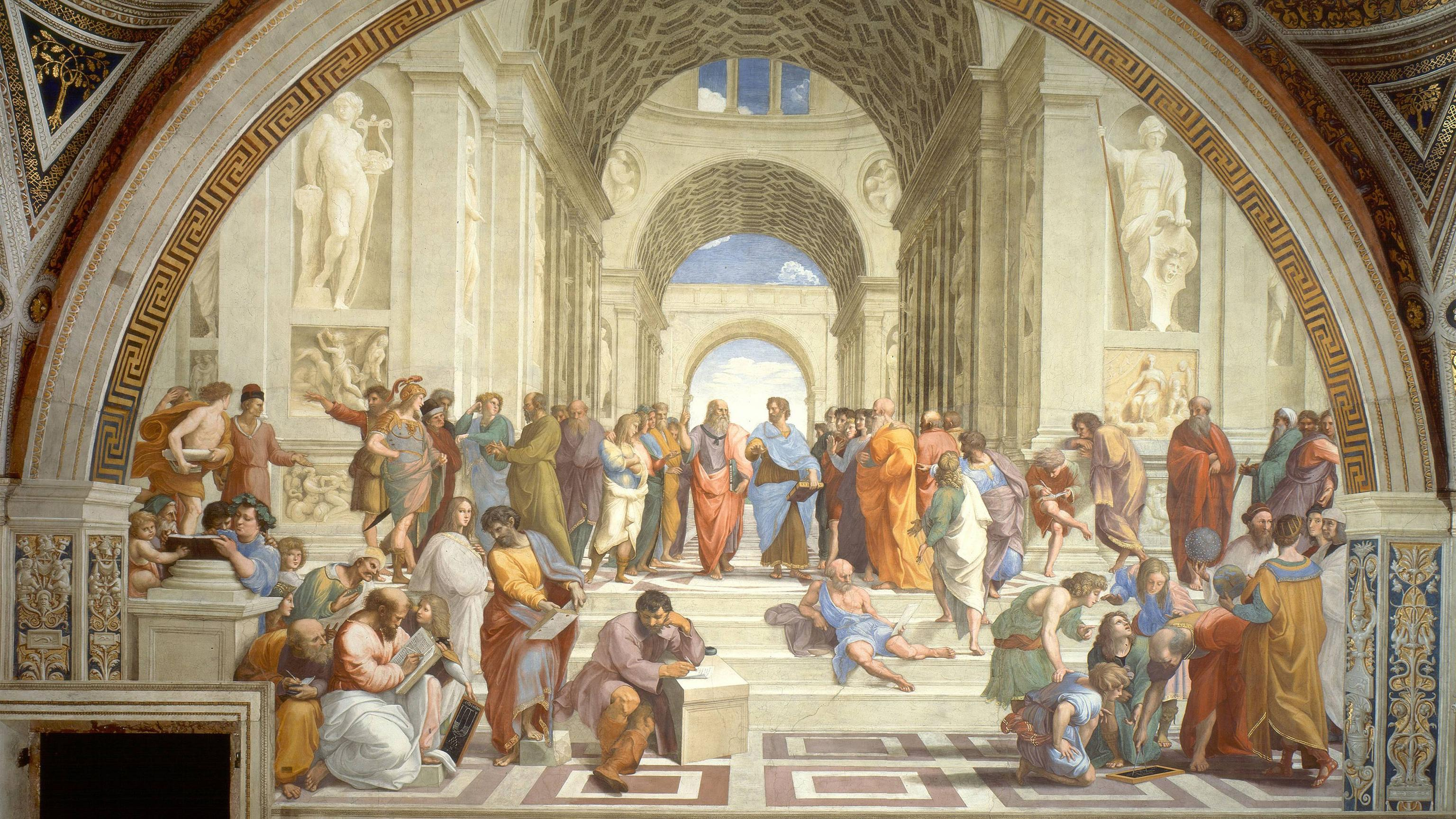 The School of Athens : wallpapers