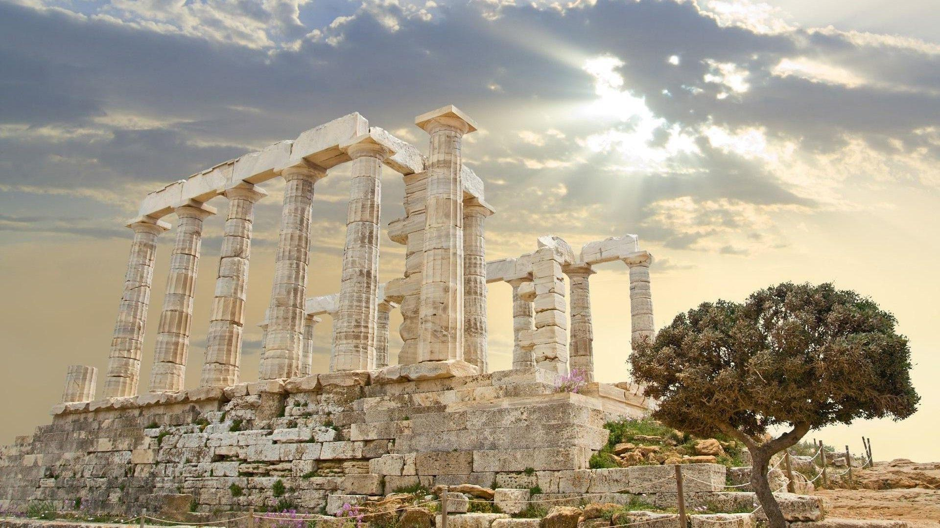 45+ Greek Temple Wallpapers - Download at WallpaperBro