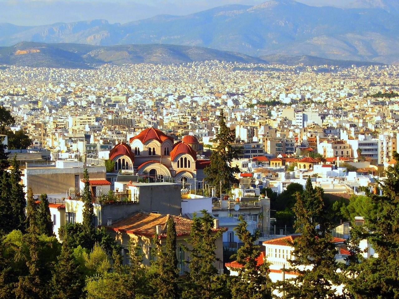 Download wallpaper 1280x960 athens, greece, city, building standard ...