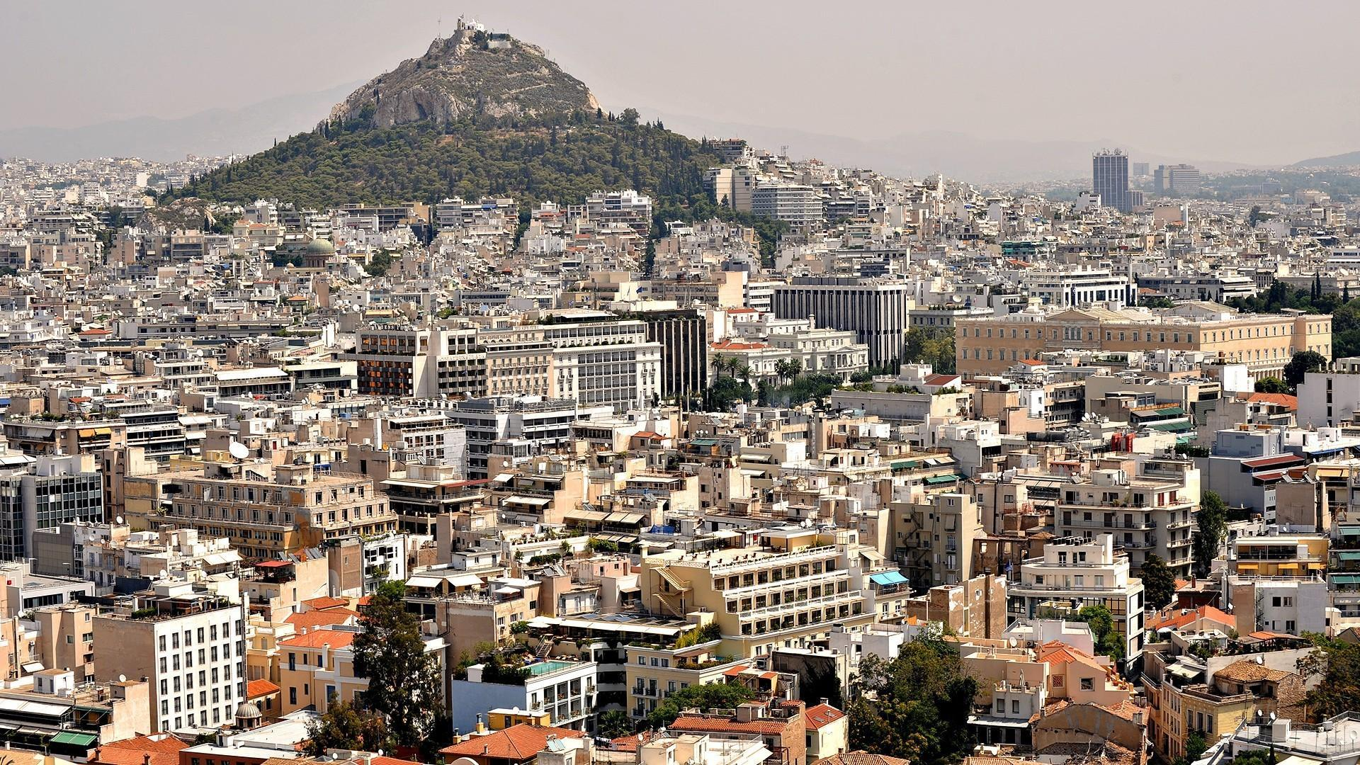 ???? Athens greece cityscapes city skyline mountains wallpaper | (53397)